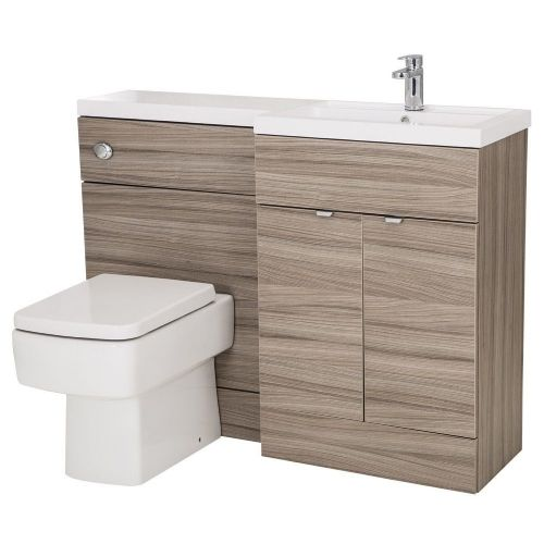 Elite Driftwood 1200mm Combination Furniture Pack - Right Hand